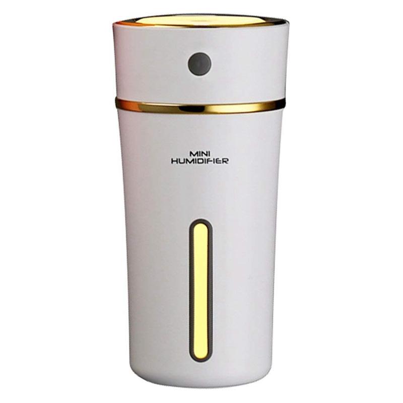 Rechargeable-300ml-Usb-Mini-Humidificateur-Avec-Batterie-Mignon-Coupe-Cool-Y4U6 miniature 5