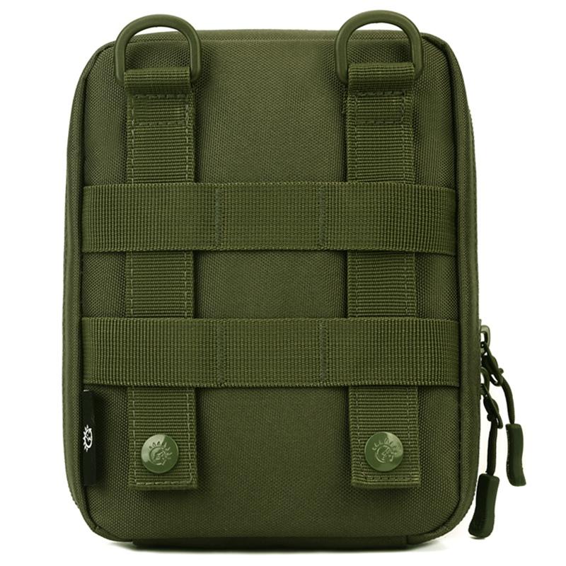 Protector-Plus-Nylon-Pouch-Organizador-Edc-Cinturon-Bolsa-Bolso-Molle-Army-1C8 miniatura 3