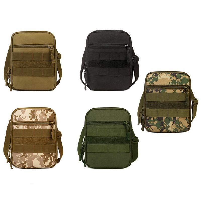 Protector-Plus-Nylon-Pouch-Organizador-Edc-Cinturon-Bolsa-Bolso-Molle-Army-1C8 miniatura 4