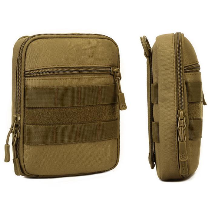 Protector-Plus-Nylon-Pouch-Organizador-Edc-Cinturon-Bolsa-Bolso-Molle-Army-1C8 miniatura 12