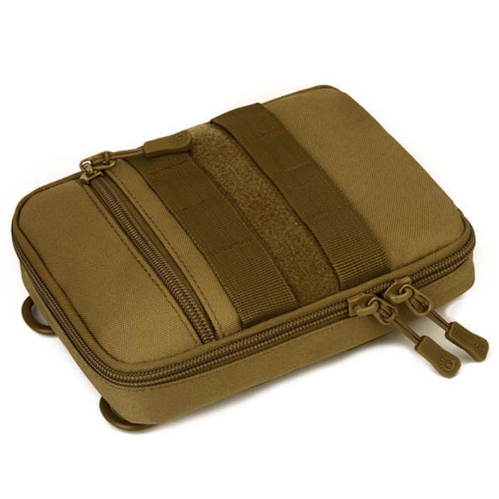 Protector-Plus-Nylon-Pouch-Organizador-Edc-Cinturon-Bolsa-Bolso-Molle-Army-1C8 miniatura 14