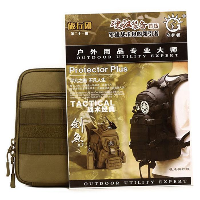 Protector-Plus-Nylon-Pouch-Organizador-Edc-Cinturon-Bolsa-Bolso-Molle-Army-1C8 miniatura 16
