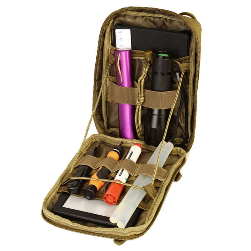 Protector-Plus-Nylon-Pouch-Organizador-Edc-Cinturon-Bolsa-Bolso-Molle-Army-1C8 miniatura 18