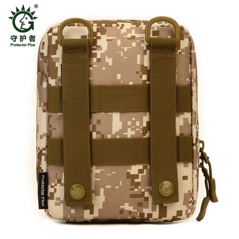 Protector-Plus-Nylon-Pouch-Organizador-Edc-Cinturon-Bolsa-Bolso-Molle-Army-1C8 miniatura 20
