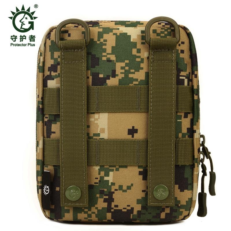 Protector-Plus-Nylon-Pouch-Organizador-Edc-Cinturon-Bolsa-Bolso-Molle-Army-1C8 miniatura 28
