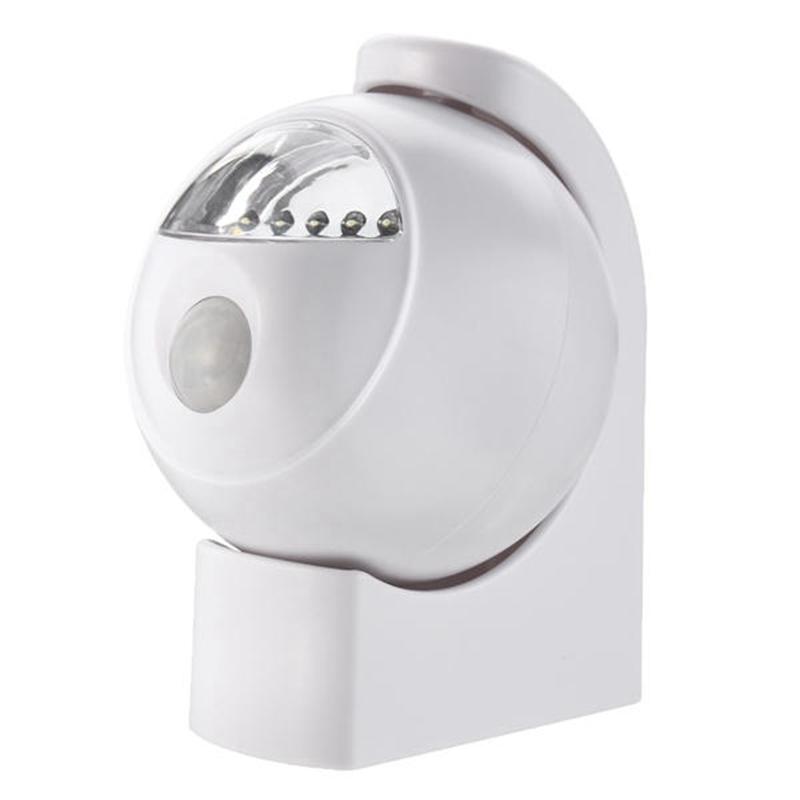2X-Wireless-Led-Pir-Motion-Sensor-Battery-Powered-Night-Light-Wall-Cabinet-F6Z5 thumbnail 4