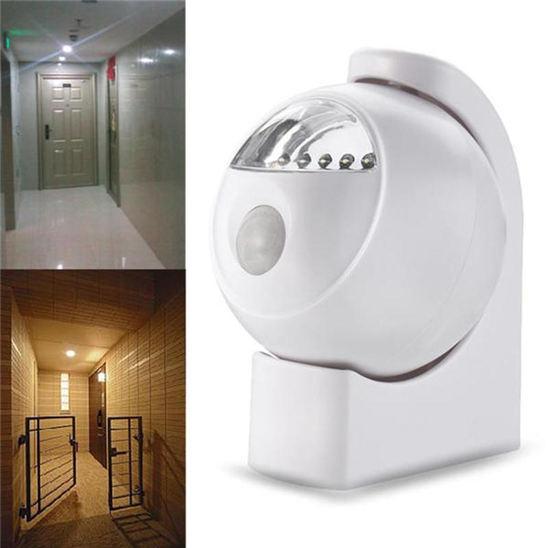 2X-Wireless-Led-Pir-Motion-Sensor-Battery-Powered-Night-Light-Wall-Cabinet-F6Z5 thumbnail 9