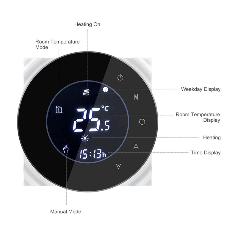 Bht-6000Gblw-16A-Wifi-Elektrische-Heizung-Thermostat-Fussboden-Heizung-Konst-E2L2 Indexbild 18