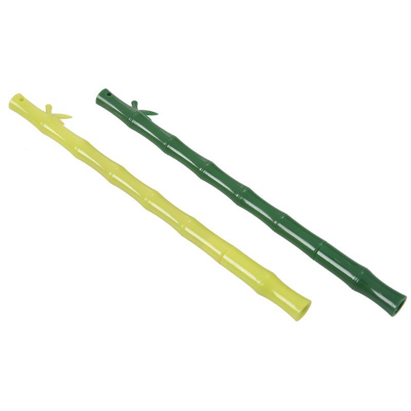 Kugelschreiber Kunststoff Bambus Stift Schwarz Tinte 0,38 Mm Neuheit Briefp M1Y8