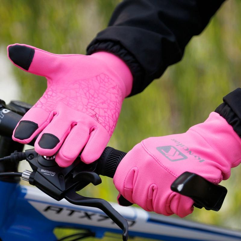 Kyncilor-Ciclismo-Guantes-Deportes-Al-Aire-Libre-Completo-Dedo-Guantes-Tran-V1U8 miniatura 10