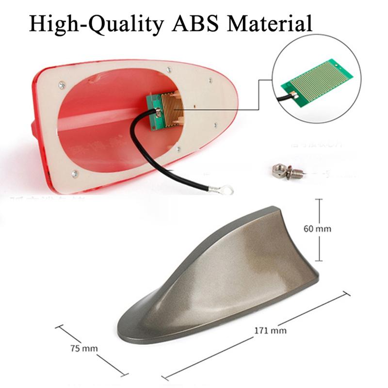 voiture auto toit fm antenne aileron de requin sp cial. Black Bedroom Furniture Sets. Home Design Ideas