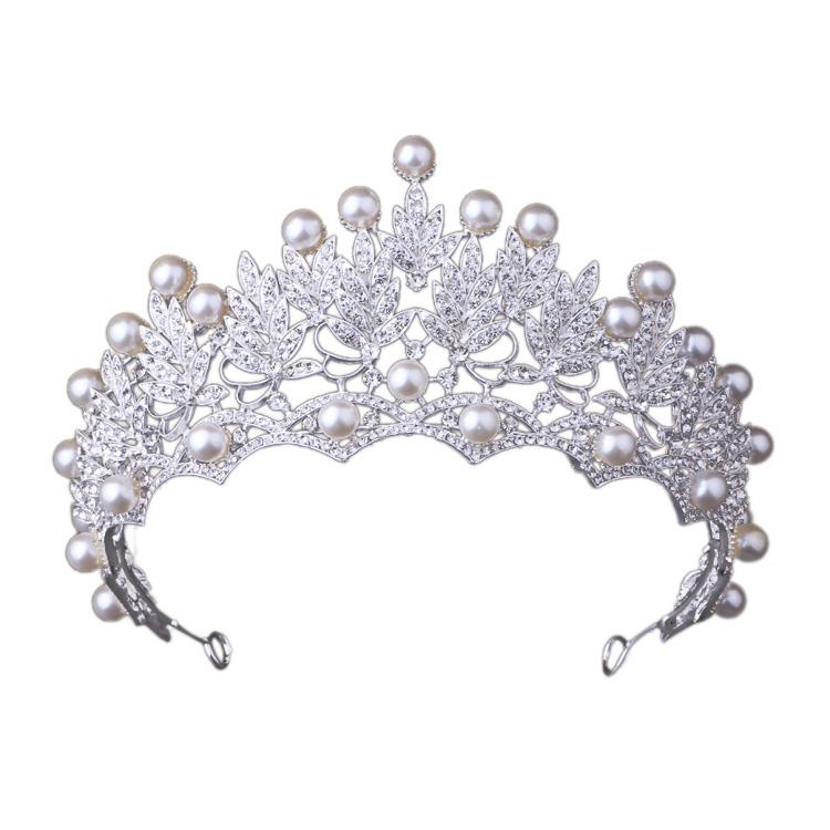 Women Rhinestone Tiaras Crowns Wedding Hair Jewelry Star Bridal Queen Headbands