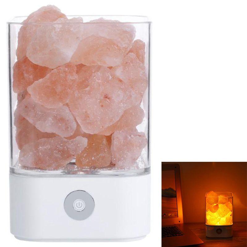 Led De Detalles 1x Luz Usb Natural lampara Lampara Z4t2 Sal Himalaya Cristal lFK1JcT
