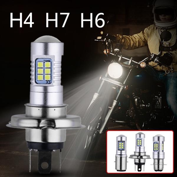 2X-Motocicleta-3030-21Smd-Led-Faro-Principal-Luz-Lampara-Bombilla-1200Lm-Bl-G7V6 miniatura 3