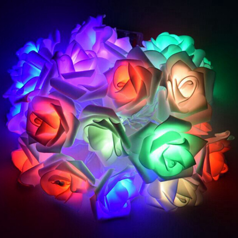USB-20-Roses-Flower-Garland-Led-Christmas-Holiday-String-Lights-Valentine-W-O4R8 thumbnail 11