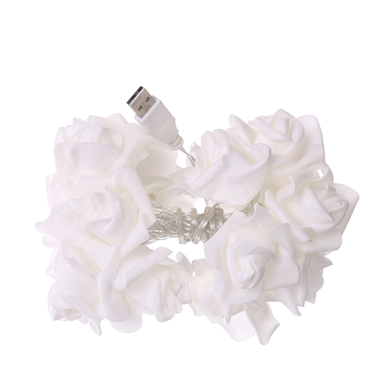USB-20-Roses-Flower-Garland-Led-Christmas-Holiday-String-Lights-Valentine-W-O4R8 thumbnail 15