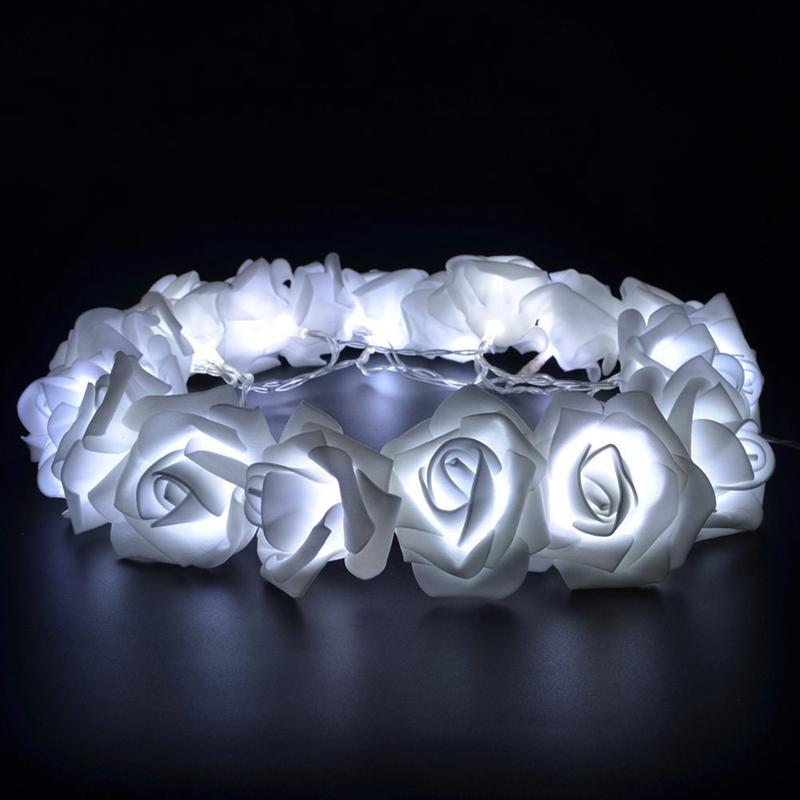 USB-20-Roses-Flower-Garland-Led-Christmas-Holiday-String-Lights-Valentine-W-R9S5 thumbnail 17