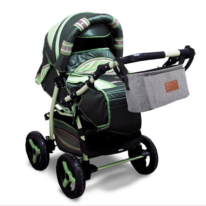 thumbnail 8 - Baby Stroller Pram Pushchair Travel Organizer Storage Bag Bottle Diaper Hol Q6R3