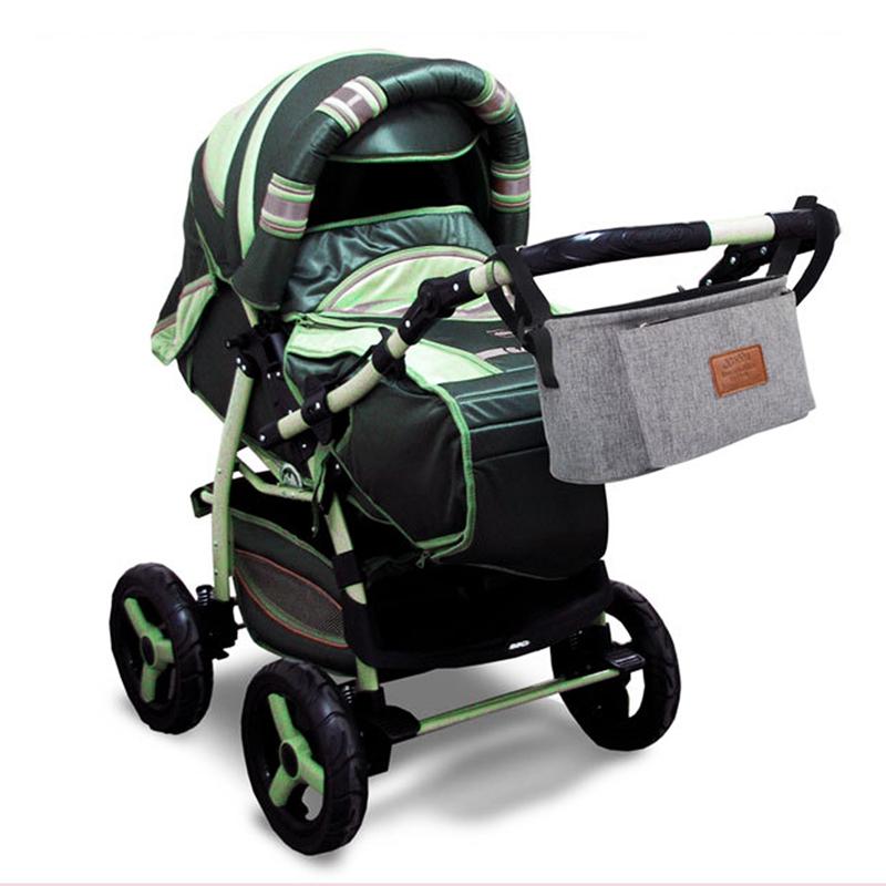 thumbnail 17 - Baby Stroller Pram Pushchair Travel Organizer Storage Bag Bottle Diaper Hol Q6R3