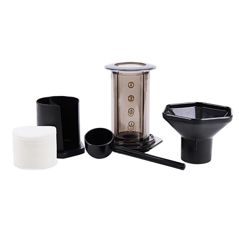 Maquina-De-Cafe-Portatil-Cafetera-De-Prensa-Cafetera-con-Filtro-De-Cafe-Maqu-1C3 miniatura 20
