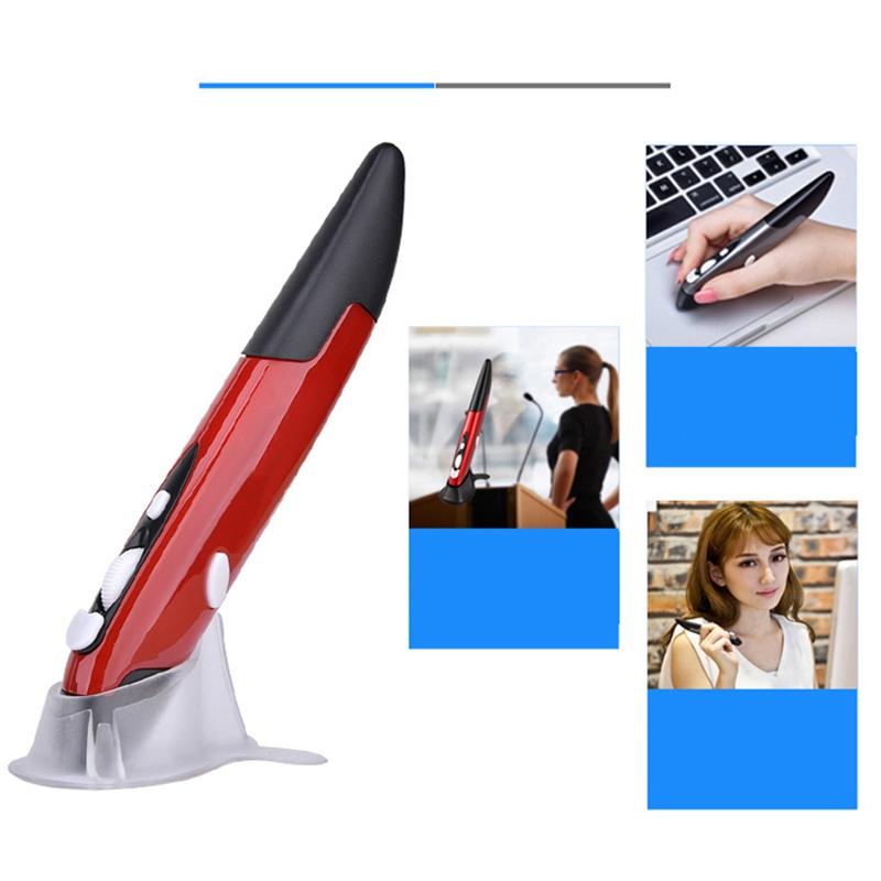 Mini-Drahtlos-Optik-Stift-Maus-2-4-G-1600-Dpi-4-Knopf-Bleistift-Usb-Ergonom-Q8Z1 Indexbild 7