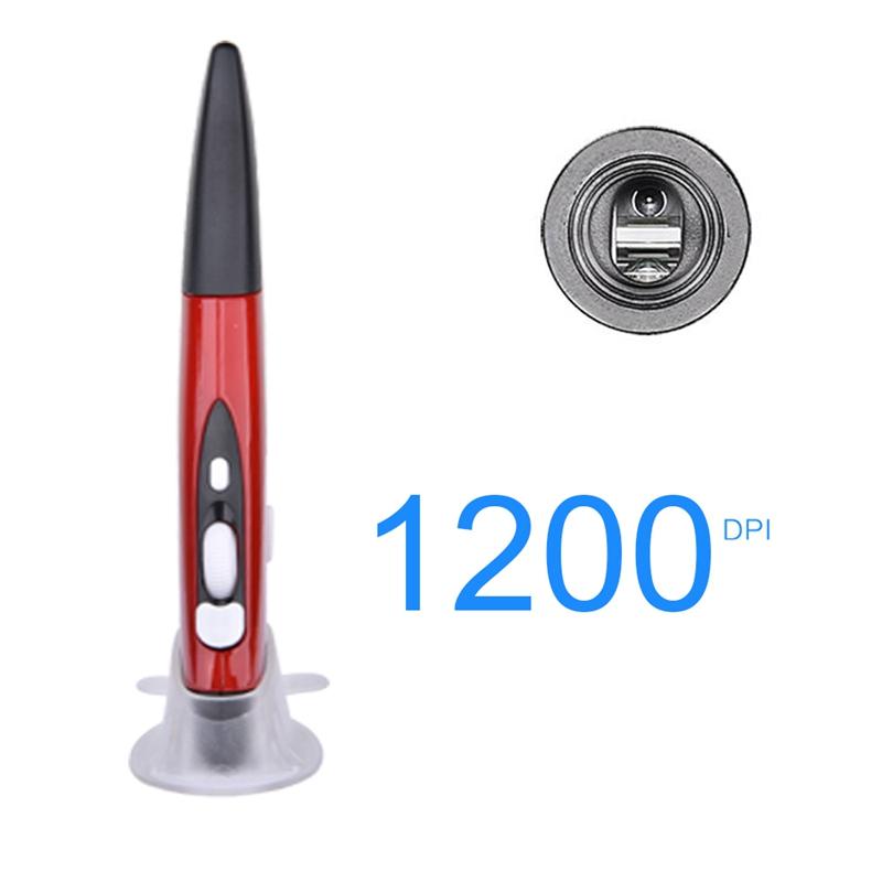 Mini-Drahtlos-Optik-Stift-Maus-2-4-G-1600-Dpi-4-Knopf-Bleistift-Usb-Ergonom-Q8Z1 Indexbild 8