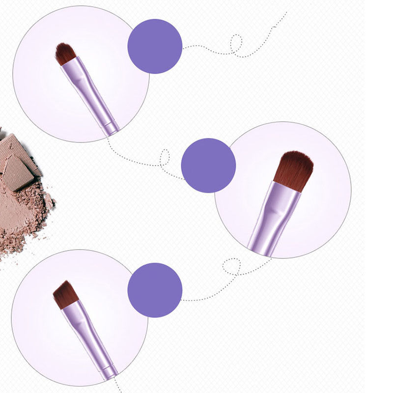 BIOAQUA-7Pcs-Makeup-Brushes-Set-Eye-Lip-Face-Foundation-Brush-Kit-Cosmetic-Tools miniatuur 8