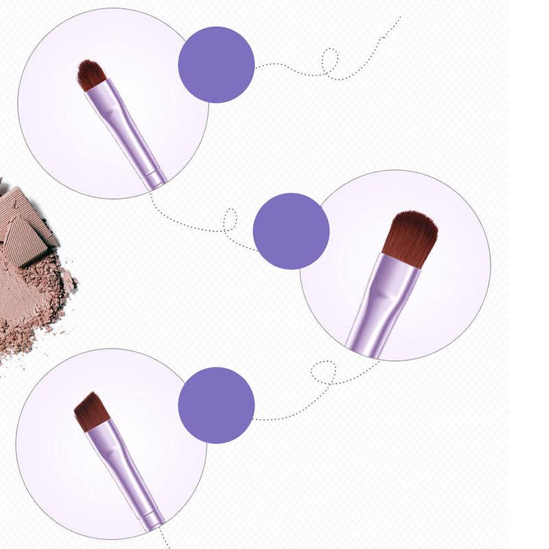 BIOAQUA-7Pcs-Makeup-Brushes-Set-Eye-Lip-Face-Foundation-Brush-Kit-Cosmetic-Tools miniatuur 12