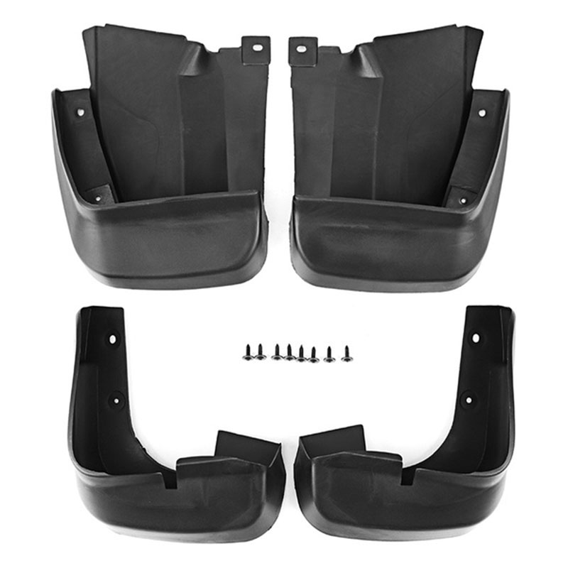 For Honda Accord Sedan 2013-2015 Paint Black Mud Flaps Splash Guard Mudguard