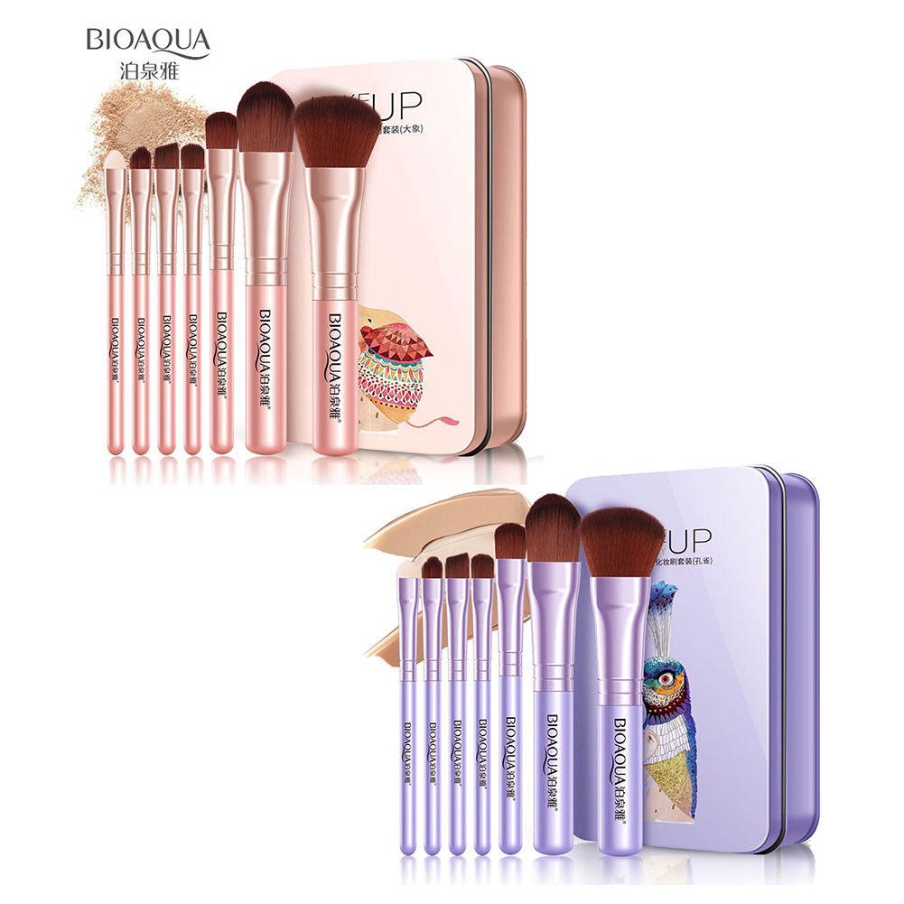 BIOAQUA-7Pcs-Makeup-Brushes-Set-Eye-Lip-Face-Foundation-Brush-Kit-Cosmetic-Tools