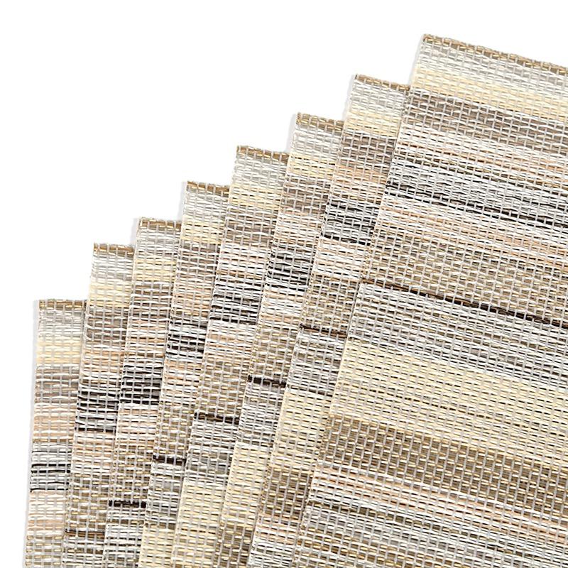 1X-ensemble-de-8-dessous-de-verre-lavables-decoratifs-de-fil-de-polyester-C8X9 miniature 9