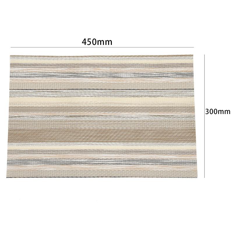 1X-ensemble-de-8-dessous-de-verre-lavables-decoratifs-de-fil-de-polyester-C8X9 miniature 10