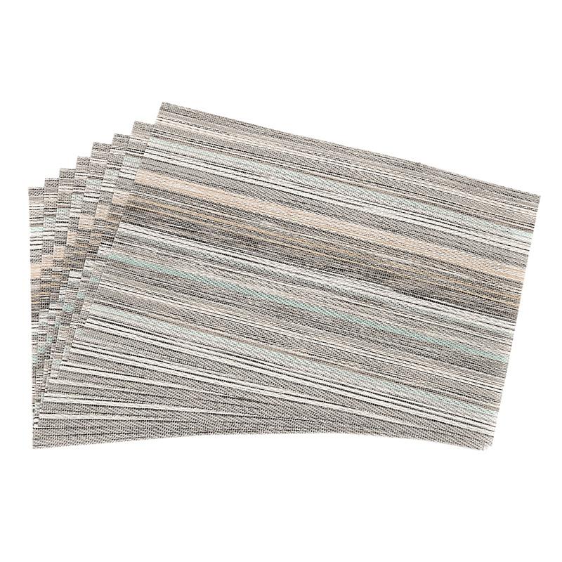 1X-ensemble-de-8-dessous-de-verre-lavables-decoratifs-de-fil-de-polyester-C8X9 miniature 17