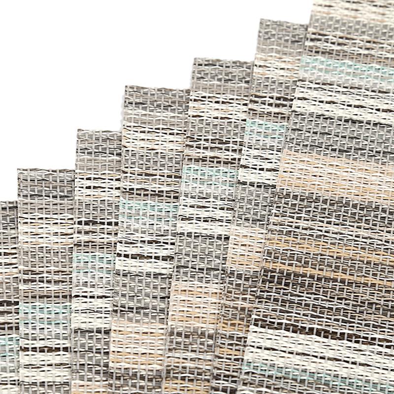 1X-ensemble-de-8-dessous-de-verre-lavables-decoratifs-de-fil-de-polyester-C8X9 miniature 18