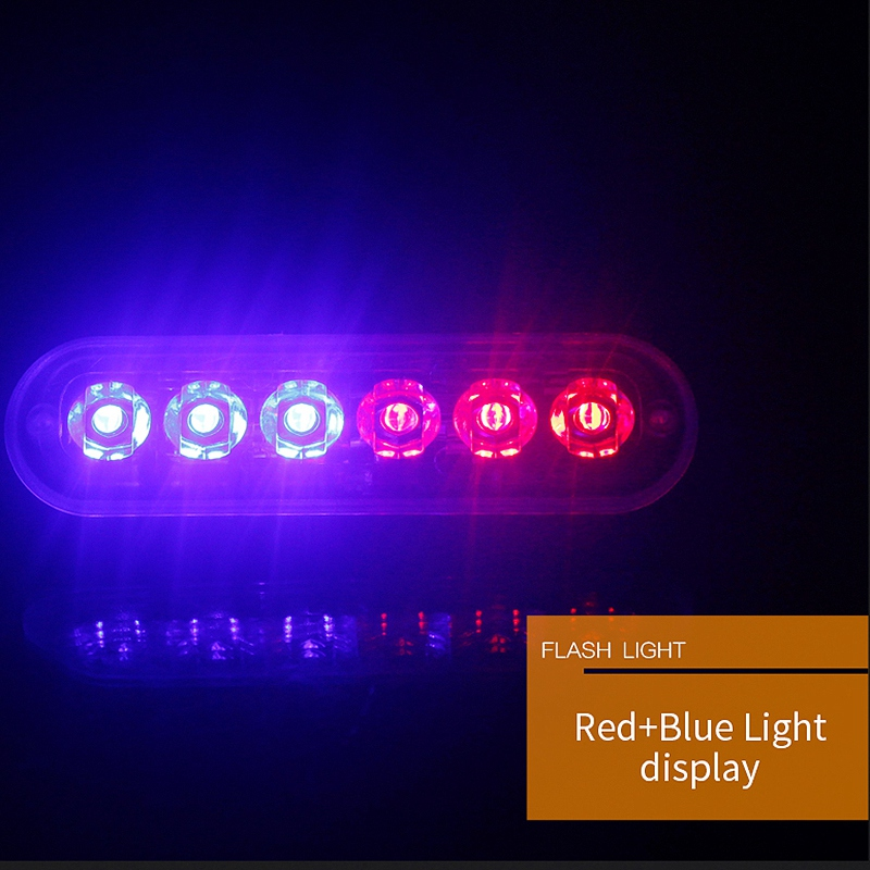 12V-24V-6LED-Light-Flash-Emergency-Car-Vehicle-Warning-Strobe-Flashing-W1A7 Indexbild 14