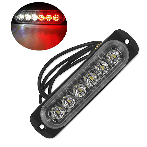 12V-24V-6LED-Light-Flash-Emergency-Car-Vehicle-Warning-Strobe-Flashing-W1A7 Indexbild 43