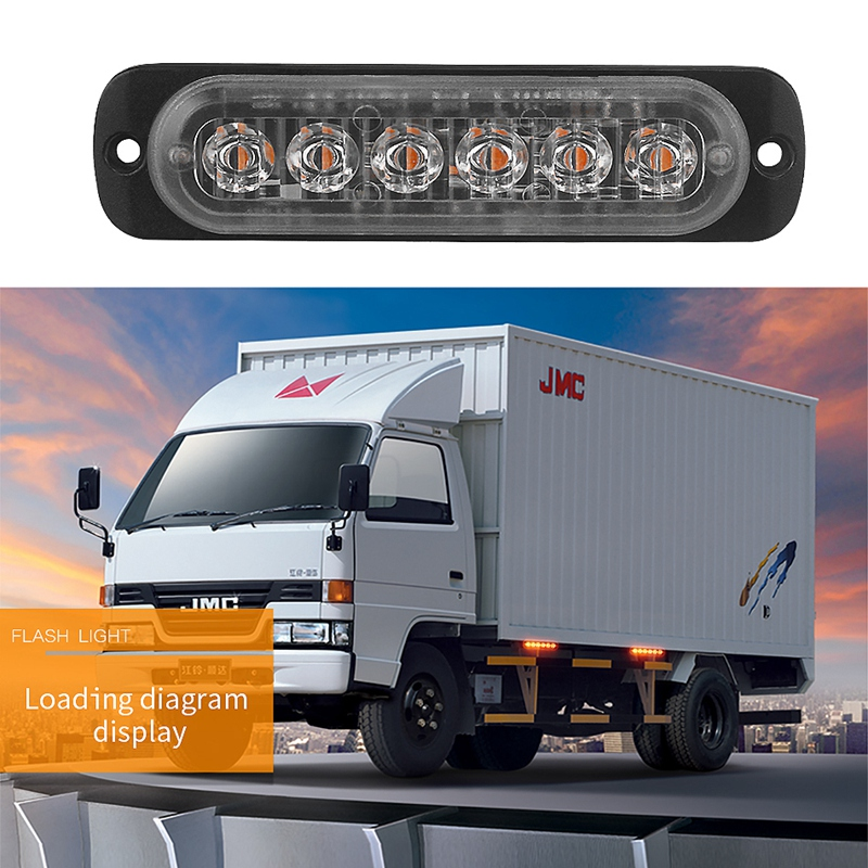 12V-24V-6LED-Light-Flash-Emergency-Car-Vehicle-Warning-Strobe-Flashing-W1A7 Indexbild 50