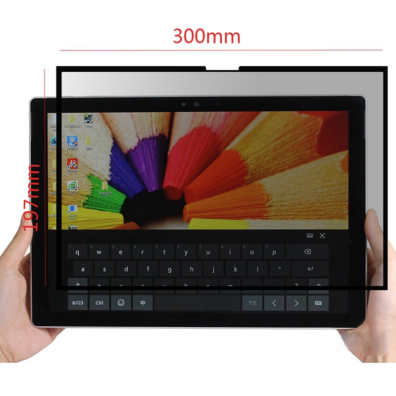 Universal-Easy-On-Off-Removable-Touchscreens-Privacy-Screen-Filter-With-Wash-5U7 thumbnail 3