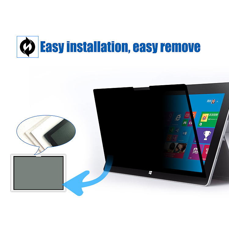 Universal-Easy-On-Off-Removable-Touchscreens-Privacy-Screen-Filter-With-Wash-5U7 thumbnail 10