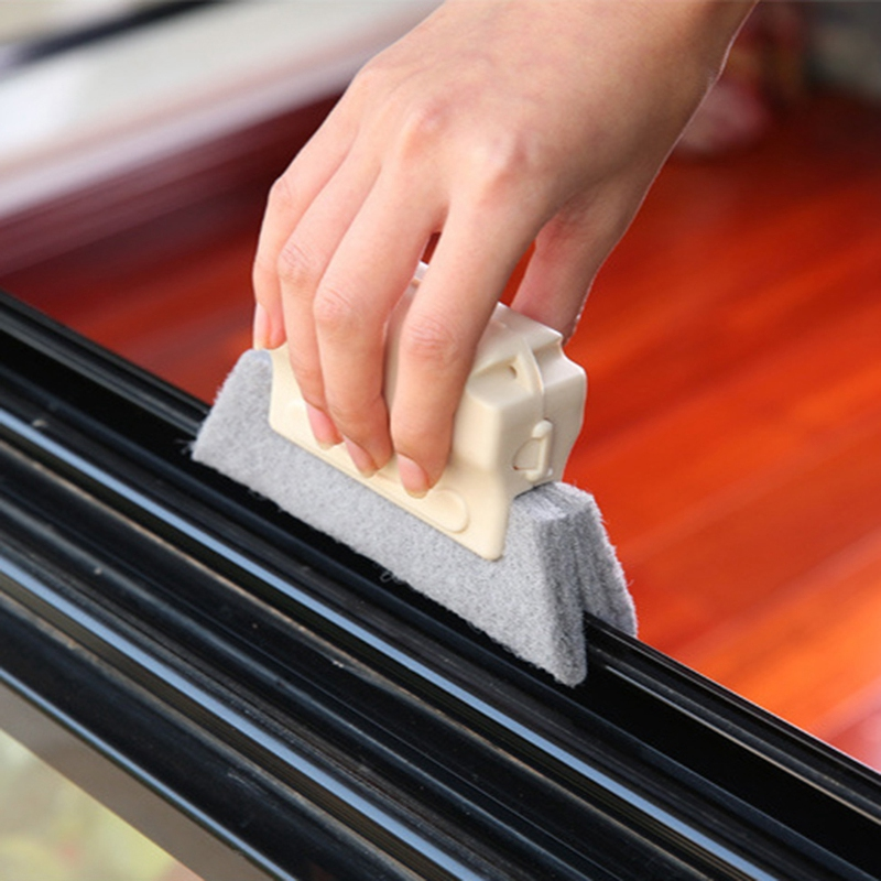 Window-Groove-Cleaning-Brush-Cleaning-Tool-Sweeping-The-Small-Brush-To-Clea-W5Z7 thumbnail 5