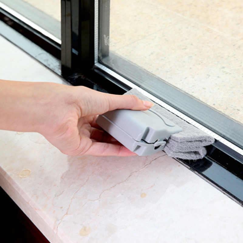 Window-Groove-Cleaning-Brush-Cleaning-Tool-Sweeping-The-Small-Brush-To-Clea-W5Z7 thumbnail 13