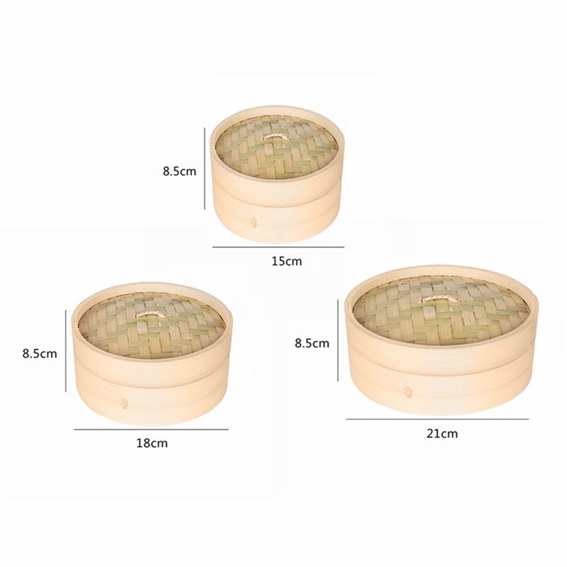 Une-Cage-Et-Une-Couverture-De-Cuisson-En-Bambou-A-La-Vapeur-De-Poisson-Riz-Z4J3 miniature 2