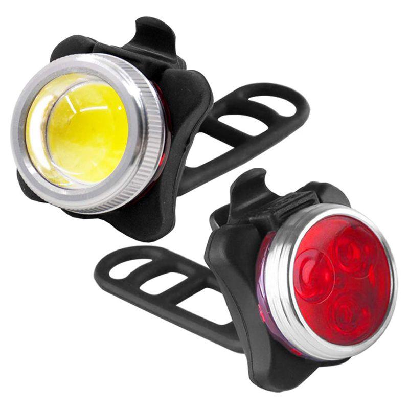 para bicicletas Luces de advertencia Luces de freno Faro Constelación radial