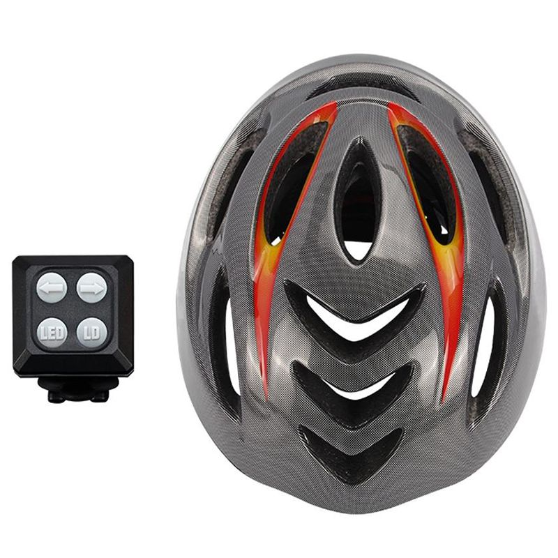 Unisex 57-62Cm Bike Helmet Cycling Light Smart Mtb Helmet Mountain Bike Acc X2K3