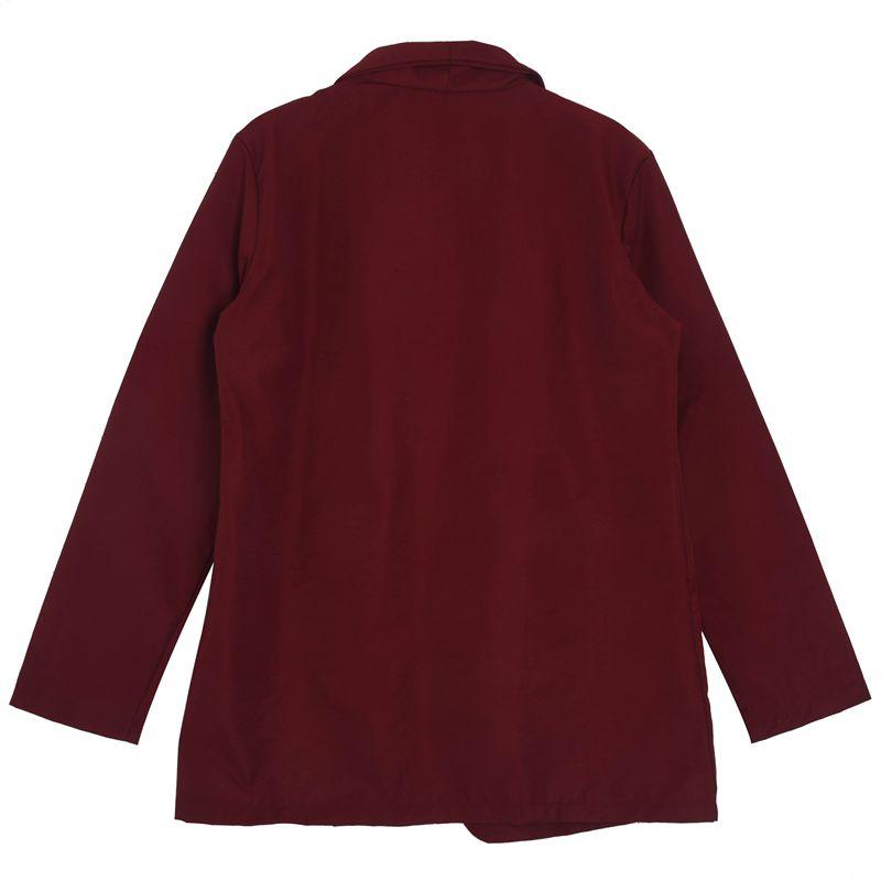 Femmes-Mode-Revers-Manches-Longues-Blazer-Manteaux-Vestes-Dames-Decontracte-L9P9 miniature 7