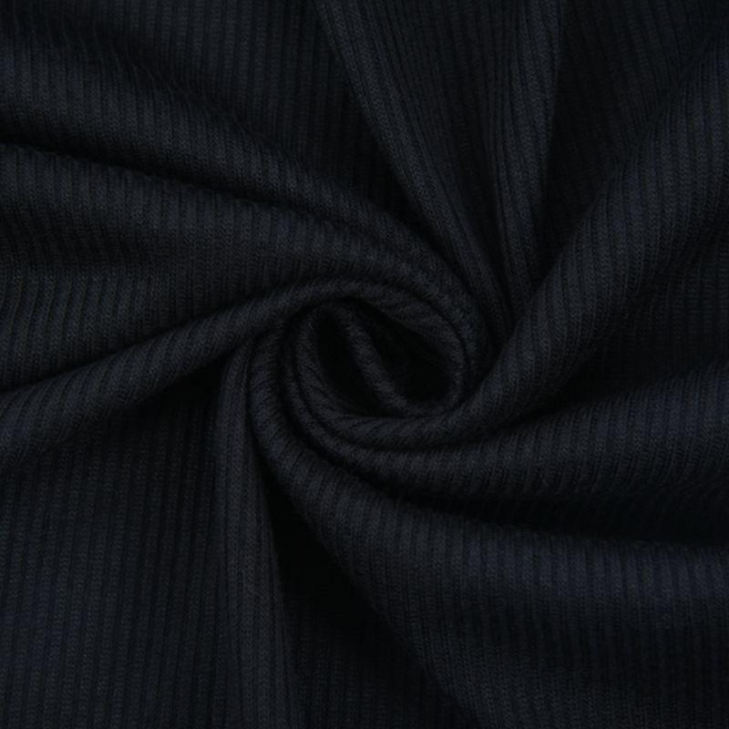 T-Shirt-Chandail-Cotele-En-Tricot-A-Longues-Manches-Une-Epaule-Sexy-Pour-Fe-E6P1 miniature 9