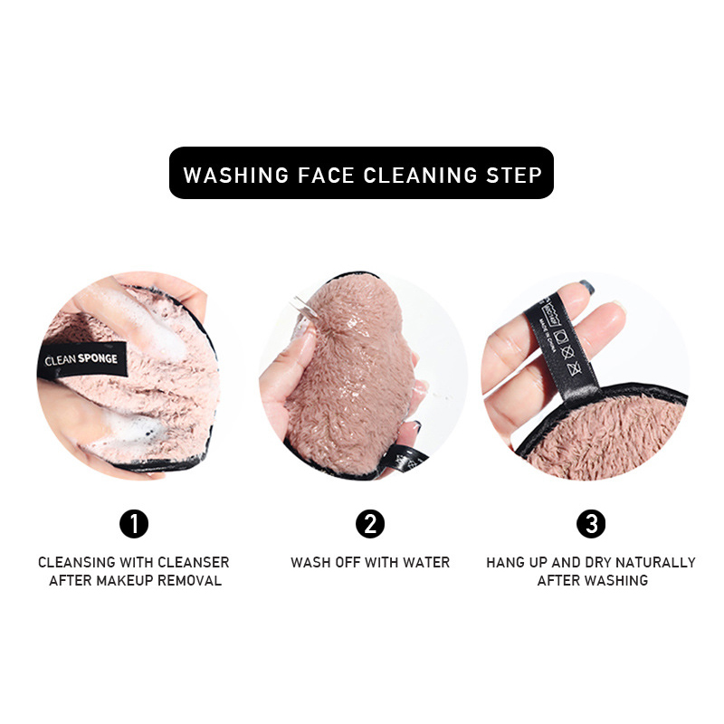 MAANGE-Microfiber-Cloth-Pads-Remover-Towel-Face-Cleansing-Makeup-Remover-Tools miniatuur 10