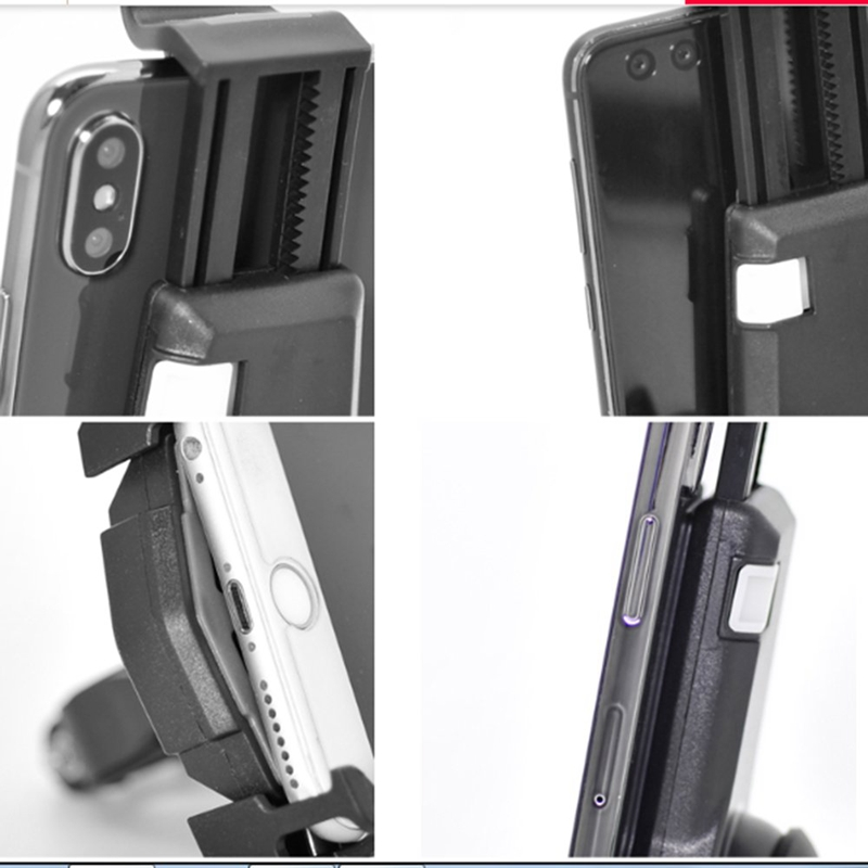2X-Bicycle-Mobile-Phone-Holder-Fixed-Mountain-Bike-Accessories-Riding-Equip-C4L2 thumbnail 3
