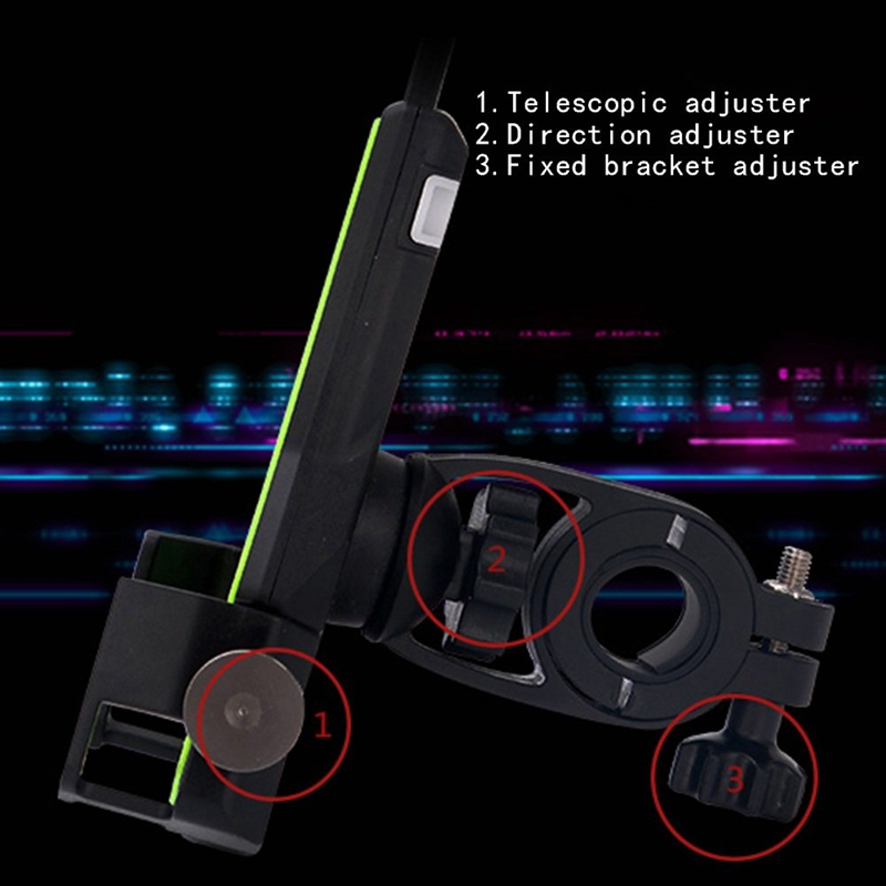 2X-Bicycle-Mobile-Phone-Holder-Fixed-Mountain-Bike-Accessories-Riding-Equip-C4L2 thumbnail 5