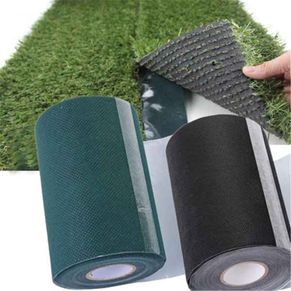 Kunst-Rasen-Kunst-Rasen-Kunst-Rasen-Rasen-Teppich-Boden-Naht-Klebeband-Selb-C5P7 Indexbild 6